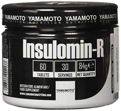 Yamamoto Nutrition Insulomin-R Suplemento Dietético de Extractos de Plantas - 60 Tabletas