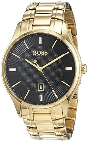 Hugo Boss Reloj Análogo clásico Hombre Cuarzo Correa