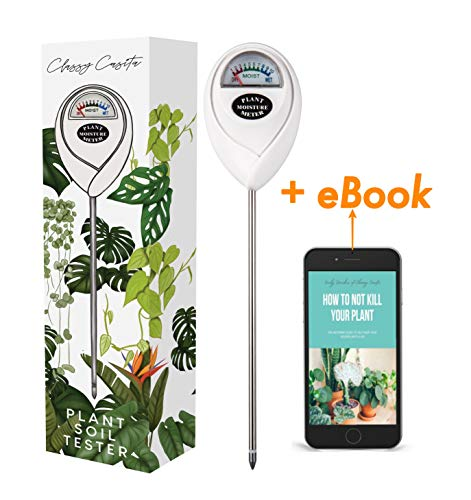 Classy Casita, Soil Meter & eBook, Plant Soil Moisture Tester Kit for Plant Care, Gardening, Farming, Indoor & Outdoor Use