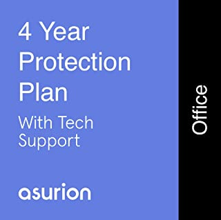 ASURION 4 Year Office Equipment Protection Plan with Tech Support $150-174.99