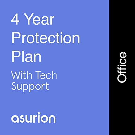 ASURION 4 Year Office Equipment Protection Plan with Tech Support $20-29.99
