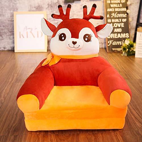 Kinderfauteuil Folding kinderen kleine sofa cartoon multifunctioneel jongens-meisjes-baby-learn to sit zitkruk kinderdagverblijf kruk 3