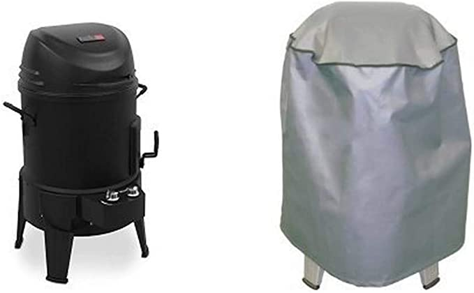 Char-Broil The Big Easy TRU-Infrared Smoker Roaster & Grill + Cover - Best for Infrared Technology