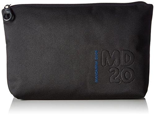 Mandarina Duck Md20 Minuteria, Pochette da Giorno Donna, Nero (Black), 4x19x28.5 cm (B x H x T)