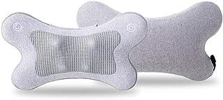 シンカ マッサージクッション ( グレー / ヒーター機能 ) 軽量 コンパクト (3Dダブルもみ玉回転) 母の日ギフト プレゼント 医療機器 MC161