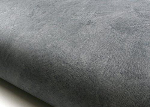 ROSEROSA Peel and Stick Flame Retardation PVC Faux Concrete Instant Self-Adhesive Wallpaper Covering Countertop Backsplash Gray (FDM224 : 2.00 Feet X 6.56 Feet)
