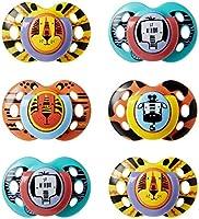 Tommee Tippee Smoczek Fun, symetryczny kształt dostosowany do potrzeb kierowcy, 18-36 miesięcy, zestaw 6 sztuk