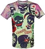 Escuadrón Suicida Skull Squad Camiseta multicolor S