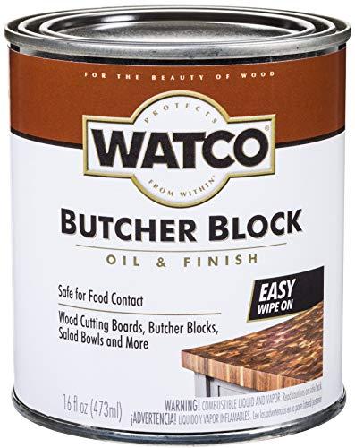 Watco 241758 Butcher Block Oil & Finish, Clear