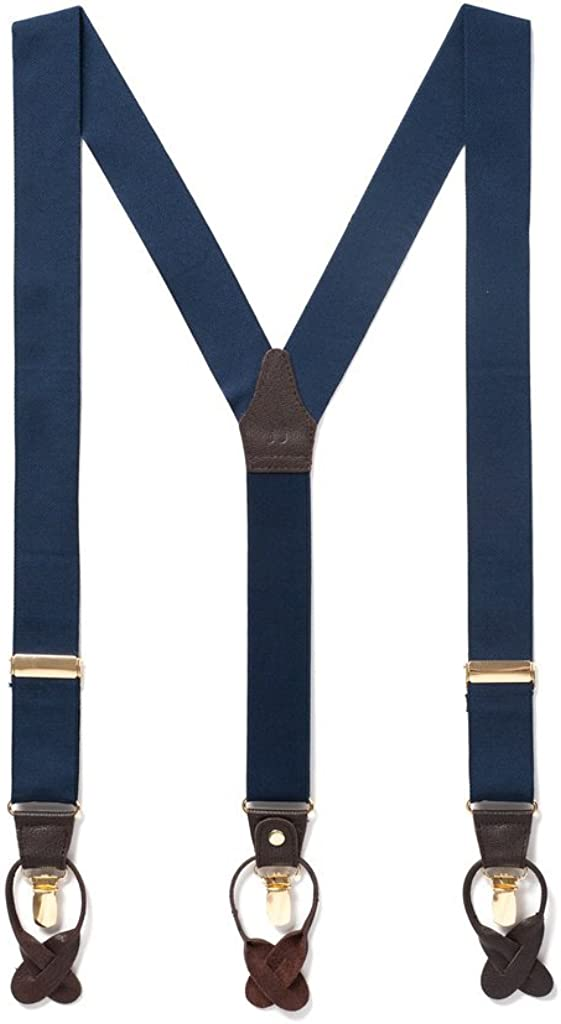 JJ SUSPENDERS Tuxedo Suspenders for Max 67% OFF with Leather Men Max 54% OFF Detailing