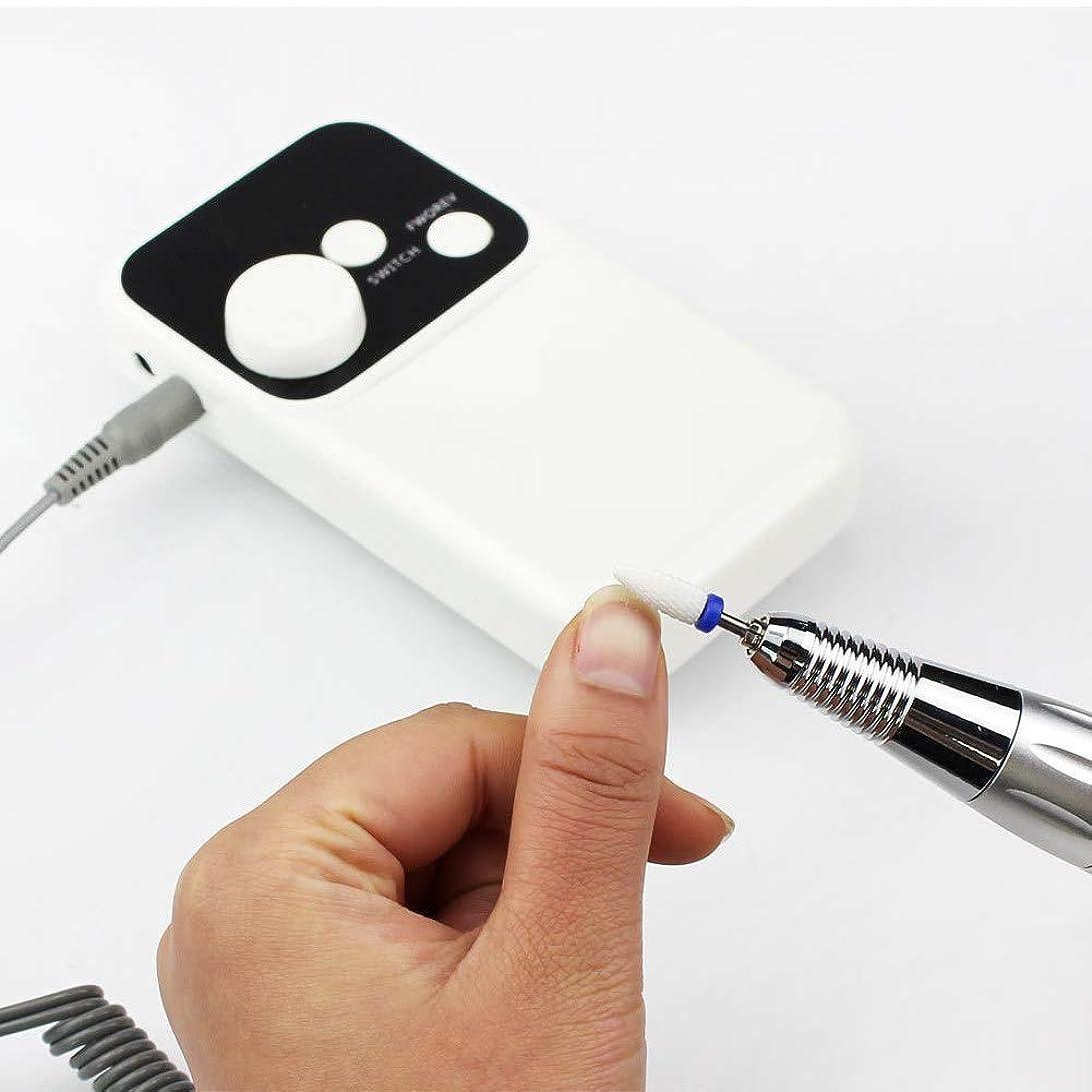 法律不愉快に同級生アクリルの釘のための専門の再充電可能な35000 Rpmの釘のドリルのポータブル、電気Efileの釘の粉砕機用具は反時計回りおよび時計回りの専門