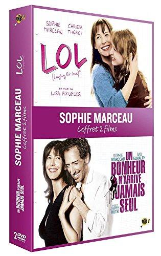 Coffret sophie marceau : lol (laughing out loud) ® ; un bonheur n'arrive jamais seul [FR Import]