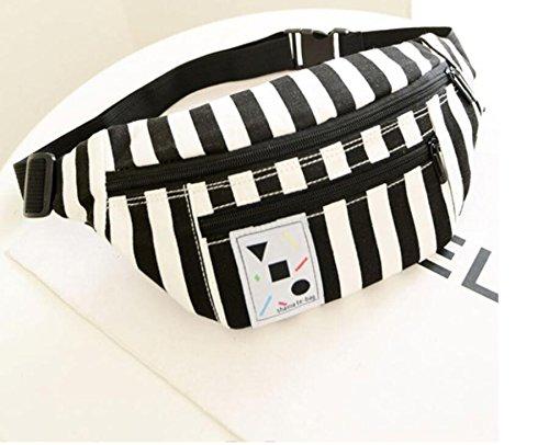 ZYT Tendance de l'ultra léger sac à dos sac Ecole vent bande petite Pochette portable caisse enregistreuse . black