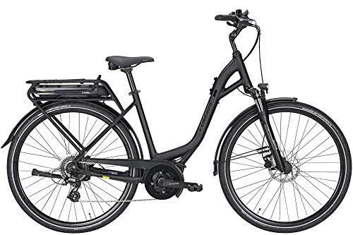 ZEG Pegasus Solero E8 Plus Damen Wave E-Bike Pedelec 400Wh 2020, Farbe:schwarz, Rahmenhöhe:55 cm, Kapazität Akku:400 Wh