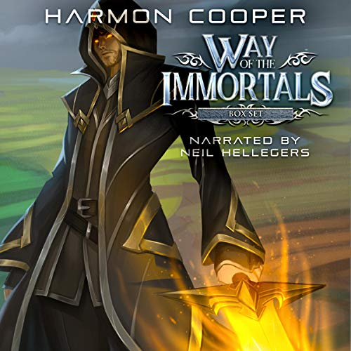 Way of the Immortals Box Set cover art