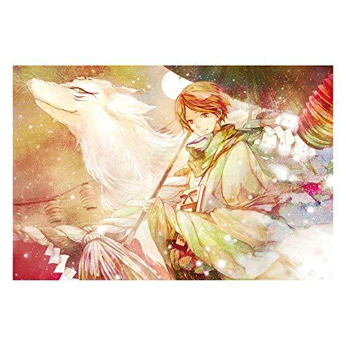 Puzzle-s Junge Mit Regenschirm, Anime for Grown Ups 1000 Stück s