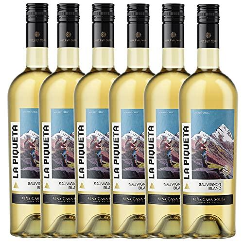 La Piqueta Sauvignon Blanc - 6 botellas x 750ml - Total:4500ml
