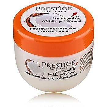 Mascarilla capilar con protección para pelo coloreado con coco & proteinas de leche vips prestige: Amazon.es: Belleza