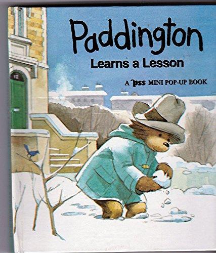 Paddington Learns a Lesson