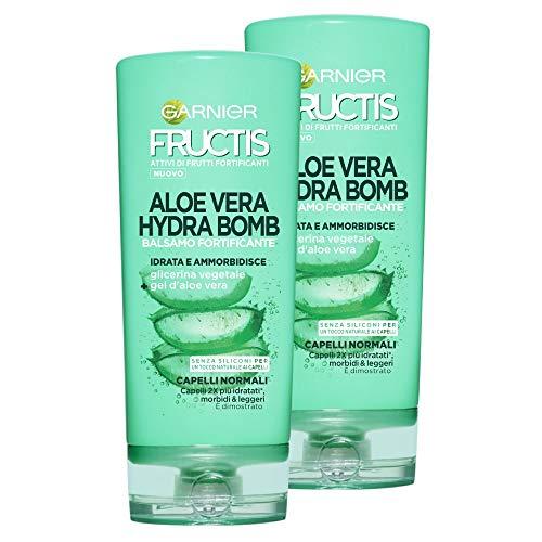 Fructis Garnier Balsam Aloe Vera Hydra Bomb - 3 Packungen à 222 g