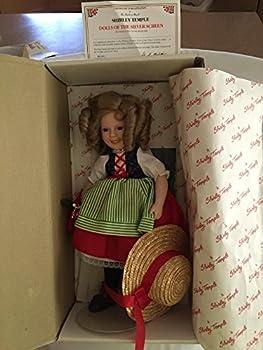 Shirley Temple  Heidi  Porcelain Doll 14  Dolls of The Silver Screen  1986 Danbury Mint  by Twentieth Century Fox