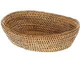 KOUBOO 1020034 La Jolla Bowl Bread Basket, Honey-Brown