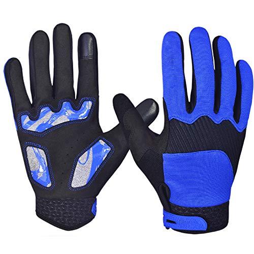 Guantes Guantes con pantalla táctil, guantes de ciclismo de montaña para hombres...
