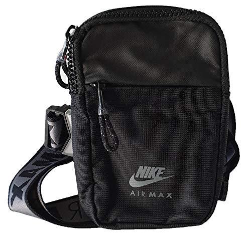 Nike Air Max - Bolso compacto para hombre, color negro