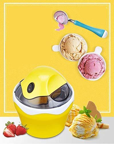 LKOER Fabricante de Helados de Frutas, Herramientas de Cocina para niños DIY Hele Cream Machine eléctrico automático de Uso doméstico jinyang