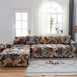 ASCV Funda de sofá Fundas de sofá de Color sólido Spandex Fundas de sofá elásticas Modernas universales para Sala de Estar Funda de sofá A3 1 Plaza