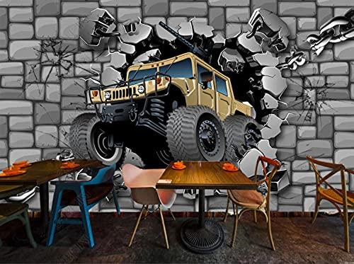 Adesivos paredes decoración Fondo de pantalla de coche 3d Mural pared -250cmx175cm