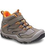 Merrell Kids' Unisex M-Chameleon 7 Access Mid A/C Wtrpf Hiking Shoe, Gunsmoke, 6 Medium US Big Kid
