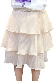 Xinhuaya Girl Summer Cute Layered Design Tutu Skirt Dress Casual Toddler Short Skirts Outfits