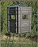 Hughes HP-67000 Hunting Ground 4x4 The Enforcer Box Blind w/Window Kit