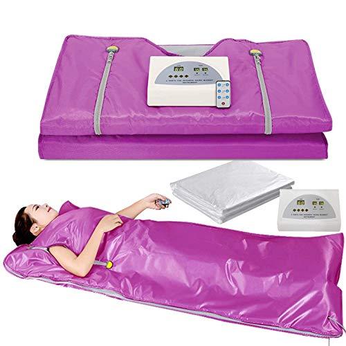 Terapia de desintoxicación de manta calefactora de sauna profesional, utilizada como sauna en casa para modelador de cuerpo, pérdida de peso, terapia de desintoxicación profesional, máquina de belle