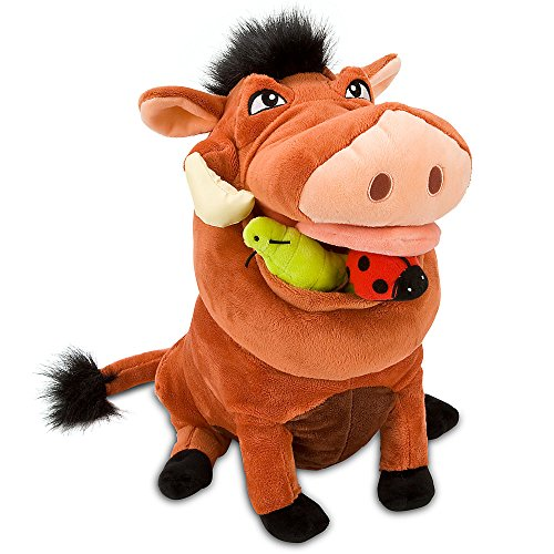 Disney Store The Lion King 14 Pumbaa Plush Stuffed Animal Toy by Disney