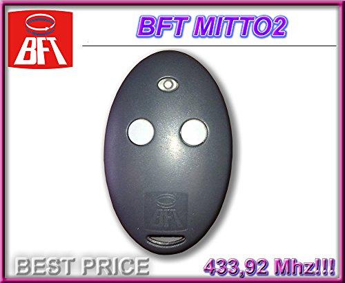 Preisvergleich Produktbild BFT MITTO 2 handsender 2-kanal 433.92Mhz fernbedienung. Rolling code!!! Top Qualität BFT fernbedienung für den besten Preis!!!