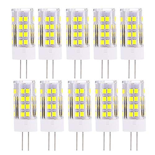 Bombilla LED, Lámpara de bombilla LED G4 LED Bombillas 5W bombilla de luz bi-pin (reemplazo equivalente 45W lámpara halógena) 500 lúmenes 5 1LED 2835 SMD Luz de foco para exposición, oficina, iluminac