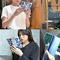 Xperia 5 ケース 手帳型 エクスペリア 5 SO-01M カバーおしゃれ かわいい 耐衝撃 花柄 人気 純正 全機種対応 秘密の花 青い誘惑 ファッション フラワー かわいい 110296