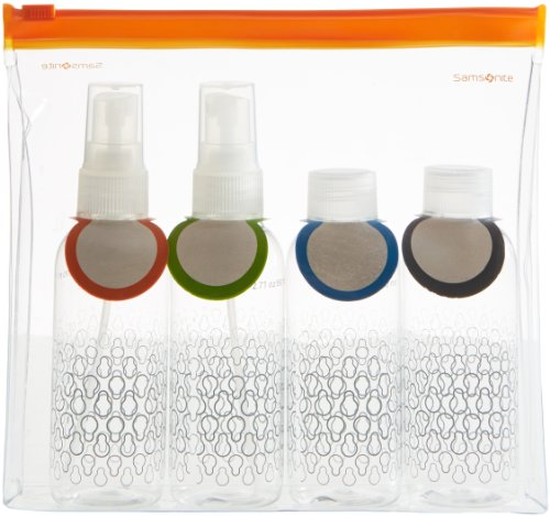 Samsonite handbagage flessenset C-O Toiletry Bottle Set Clear
