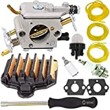 TOPEMAI PP5020AV Carburetor with 575296301 Air Filter for Poulan PP5020 2 Stroke Gas Chainsaw...