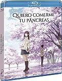 Quiero Comerme Tu Pancreas Blu-Ray [Blu-ray]