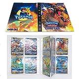 SunAurora Tarjetero Pokémon, Pokemon Album Cartas,30 páginas - Puede Contener hasta 240 Tarjetas (Charizard)