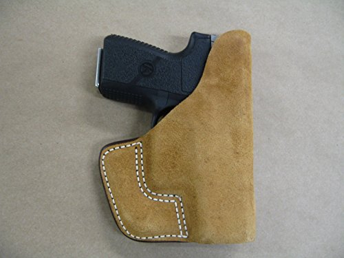 Kahr Arms PM9, CM9, MK9 Inside the Pocket Leather Concealment Holster CCW ITP