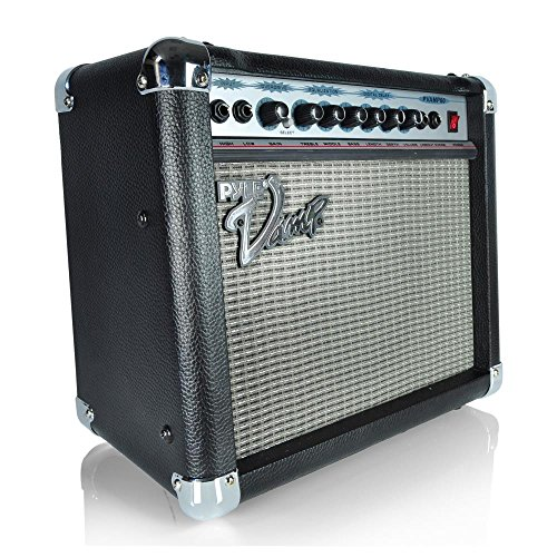 Pyle-Pro PVAMP60 60 Watt Vamp-Series Verstärker mit 3-Band EQ, Overdrive, und Digital Delay