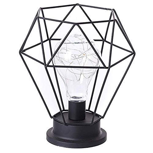 Fanuse Urlaub Eisen Kunst Minimalistischen Hohlen Tischlampen Leselampe Nachtlicht Schlafzimmer Schreibtisch Beleuchtung Dekoration