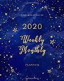 2020 Weekly & Monthly Planner: Calendars & Planners, Daily Planner Notebook, Student Agenda 2020, Monthly Planner Journal, Academic Notebook, Weekly Organizer (Weekly Planner & Monthly Calendar)