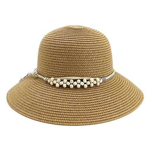 Best Buy! Hat Ladies Outside Beach Sunscreen Vapid Dome Hat Sunshade Hat Fisherman Hat (Color : 09, ...