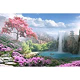 Tektalk 1000 Pieces Jigsaw Puzzles for Teens & Adults (Otherworldly Land of Peace)