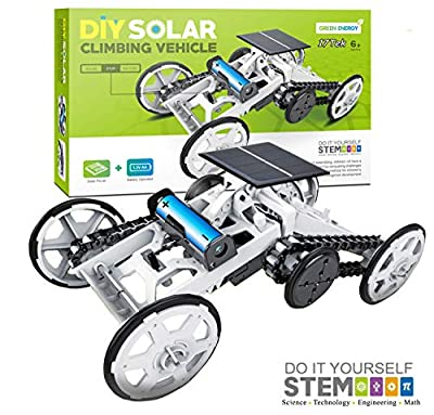 17Tek STEM Educational Solar Robot - Green Energy DIY Science Solar Power Kits